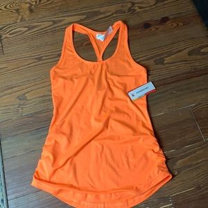 New a balance neon orange athletic tank small New+